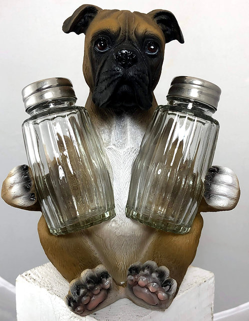 Boxer Salt and Pepper Holder