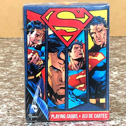 DC Comic's Superman Playing Cards