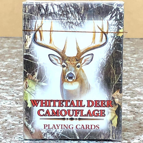 Whitetail Deer Camouflage Playing Cards