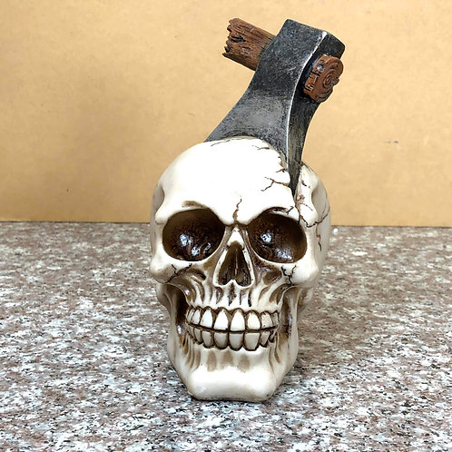 Skull with Axe in the Head