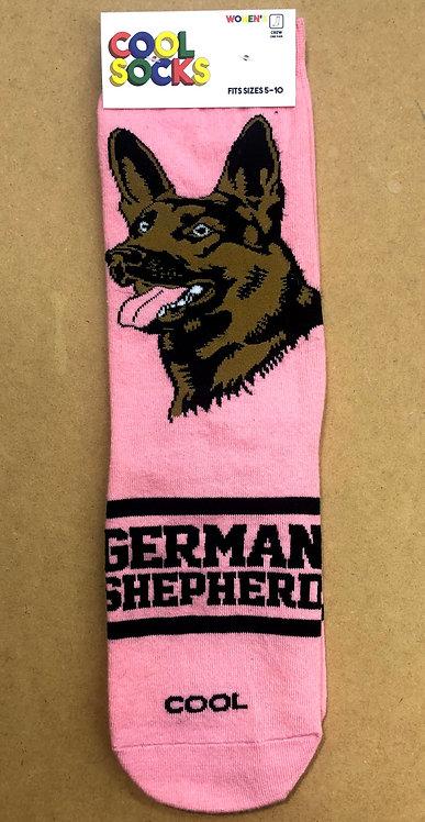 German Shepard Socks - For Women