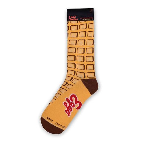 Eggo Waffle Socks