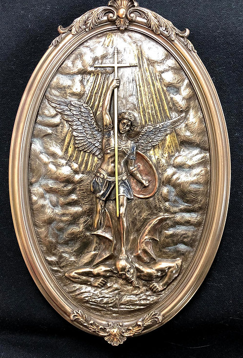 St Michael Wall Plaque