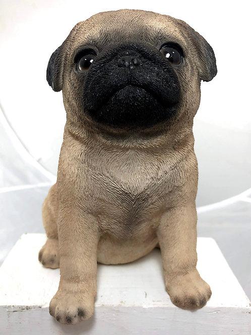 Pug Statue