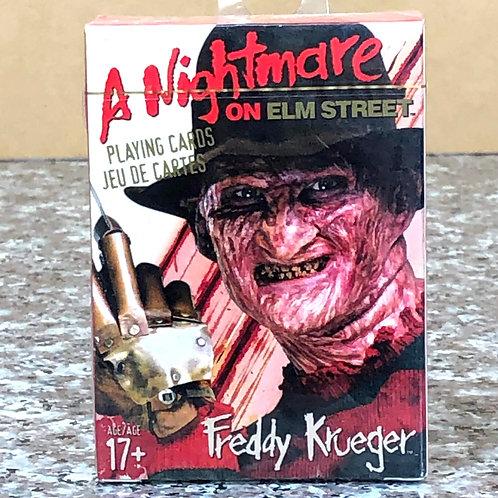 A Nightmare on Elm Street - Freddy Krueger Playing Cards