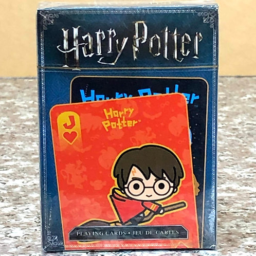Harry Potter Chibi-Style Playing Cards