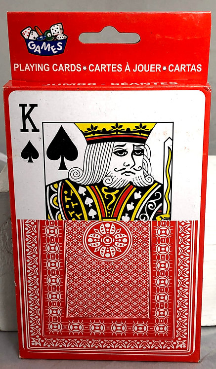 Over-sized Standard Deck of Playing Cards