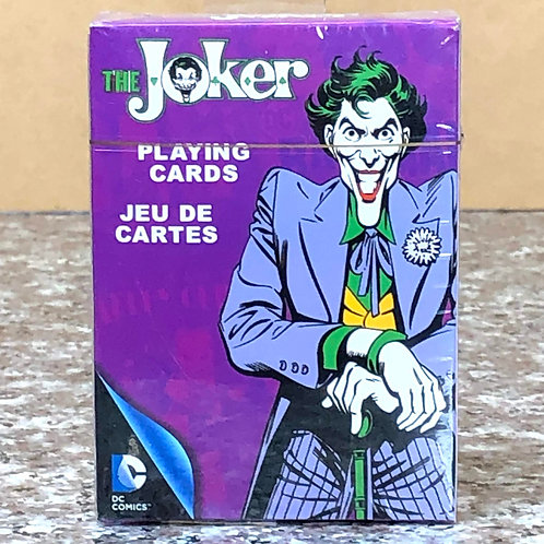 DC Comic's The Joker Playing Cards