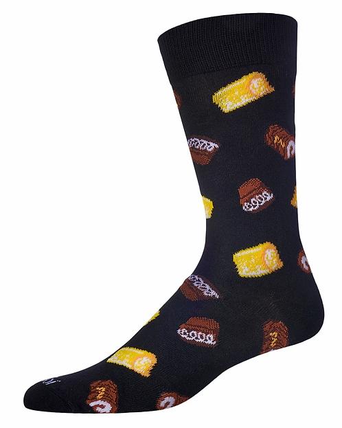 Sweets for Men (Hostess Twinkies and Ho-Ho Inspired) Socks