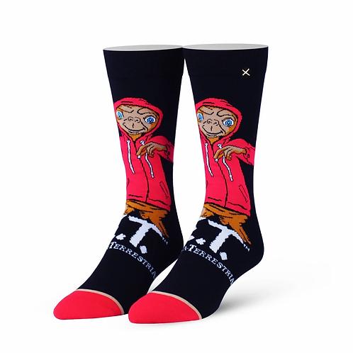 E.T. Alien in Red Hoodie Socks