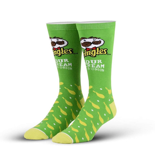 Pringles Sour Cream and Onion Chips Socks