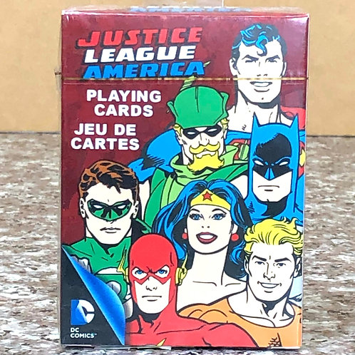 DC Comic's Justice League America Playing Cards