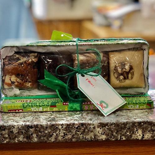 Holiday Gift Fudge Box