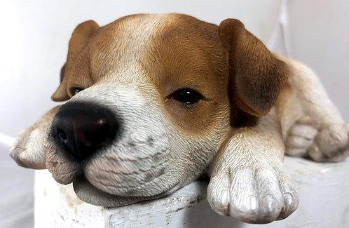 Sleeping Beagle Statue