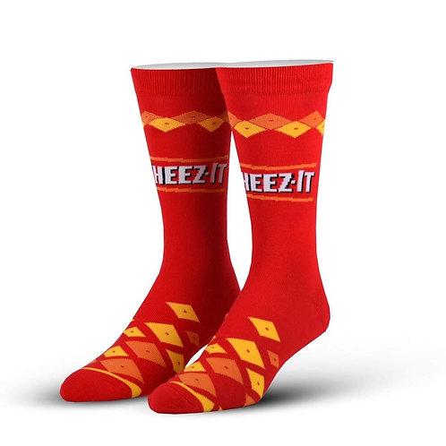 Cheez It Socks