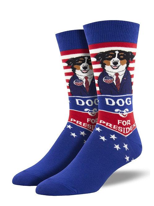 Dog for President Socks