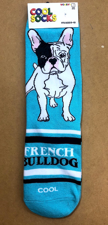 French Bulldog Socks - For Women
