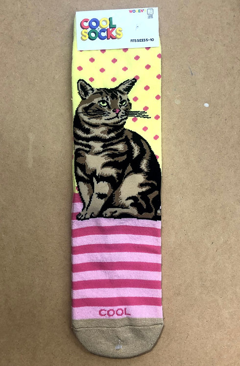 Tabby Cat Women's Socks