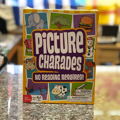 Picture Charades (No Reading Required) Game