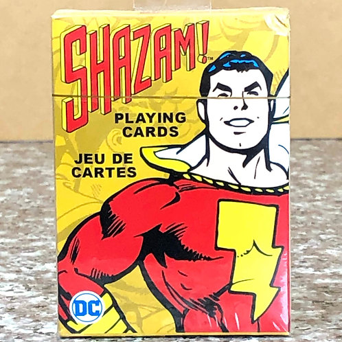 DC Comic's Shazam! Playing Cards
