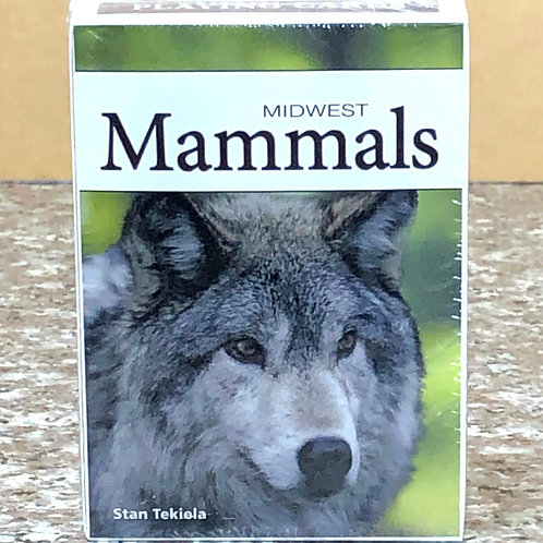 Midwest Mammals Playing Cards
