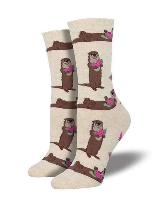 Otter-melon Socks