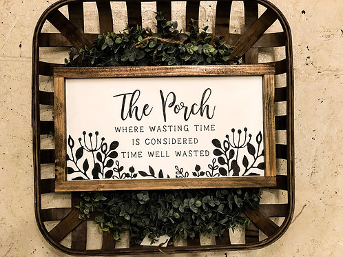 The Porch - Hand Painted Sign