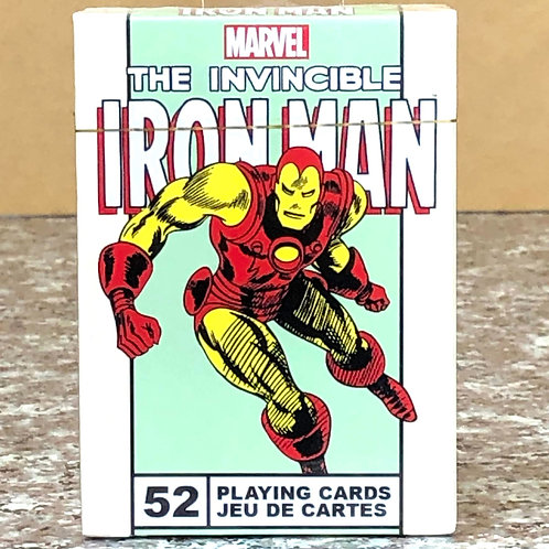 Marvel Iron Man Playing Cards
