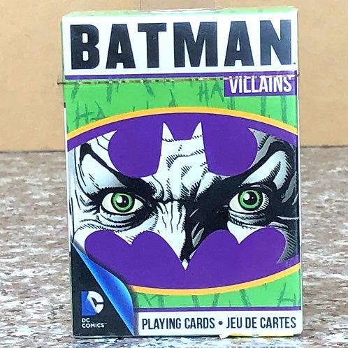 DC Comic's Batman Villains Playing Cards