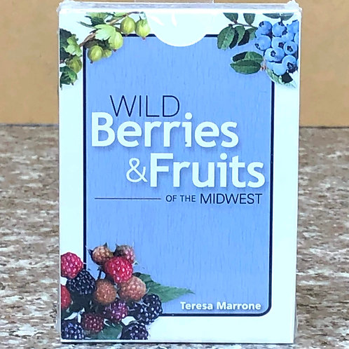 Midwest Wild Berries and Fruits Playing Cards