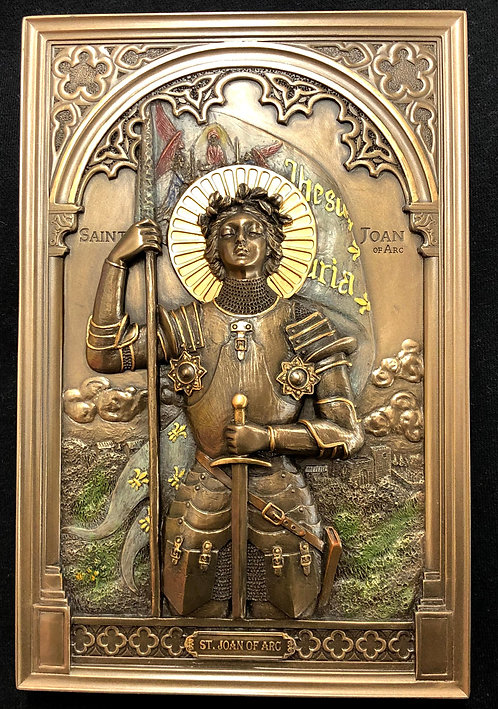Joan of Arc Wall Plaque