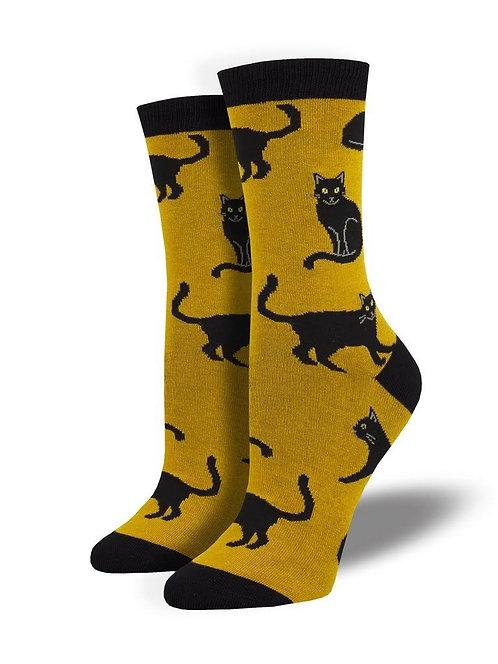 Black Cats Socks