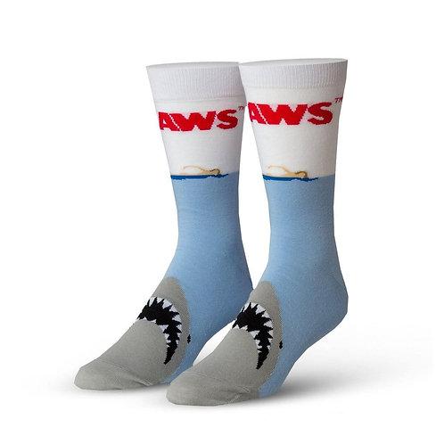 Jaws Movie Poster Socks