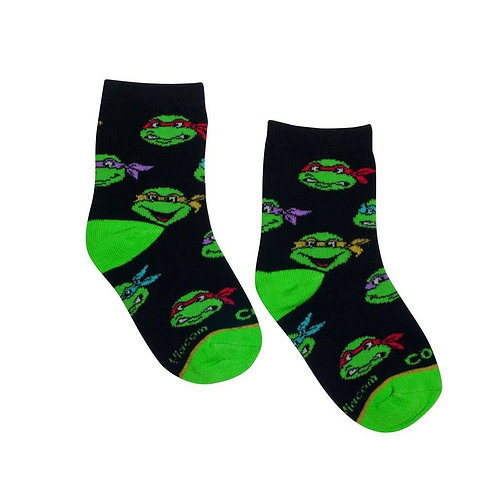 TMNT Kids Socks - Ages 4-7