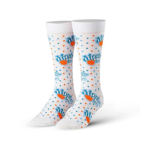 Dippin' Dots Ice Cream Socks