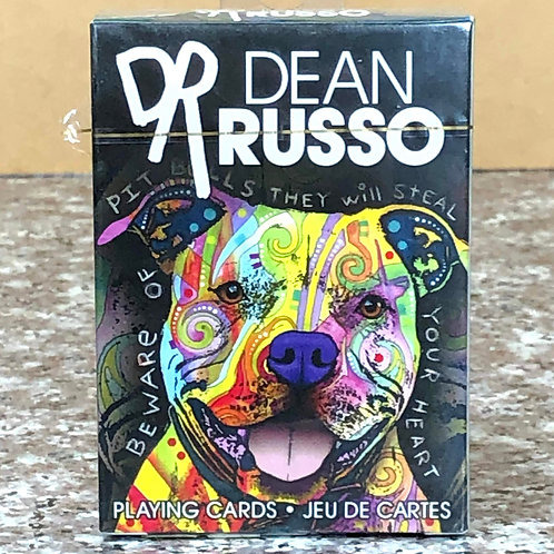 Dean Russo Dog Art Playing Cards