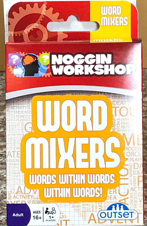 Word Mixers Card Game