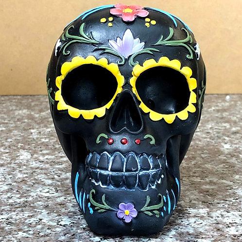 Day of the Dead Skull (Black)