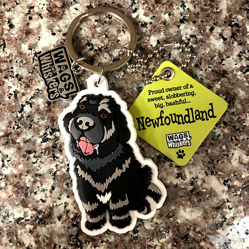 Newfoundland Keychain