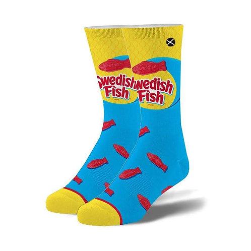 Swedish Fish Socks