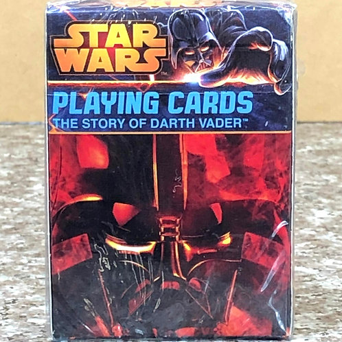 """Star Wars """"The Story of Darth Vader"""" Playing Cards"""