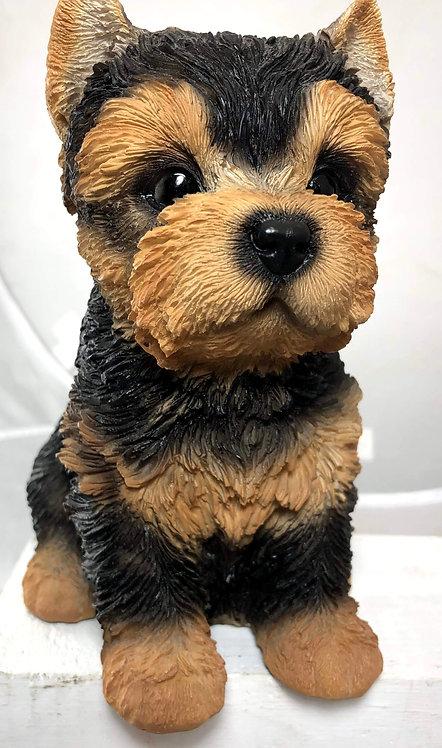 Yorkie (Yorkshire Terrier) Statue