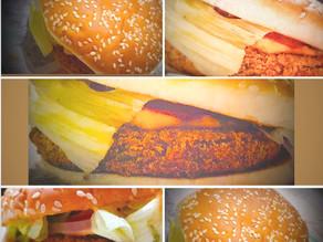 Vegetable cheese burger
