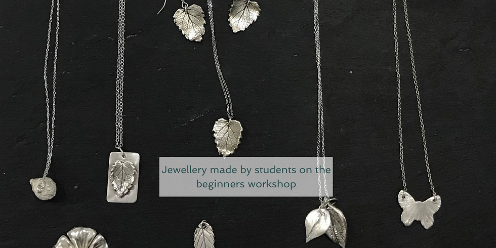 Alton - Full day beginners nature inspired silver jewellery using silver clay (£95)
