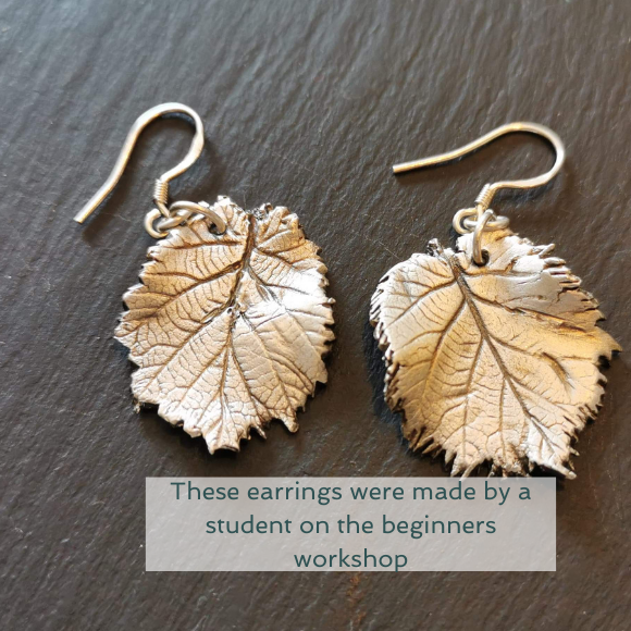 20 November, Southampton - Full day beginners Jewellery making using silver clay