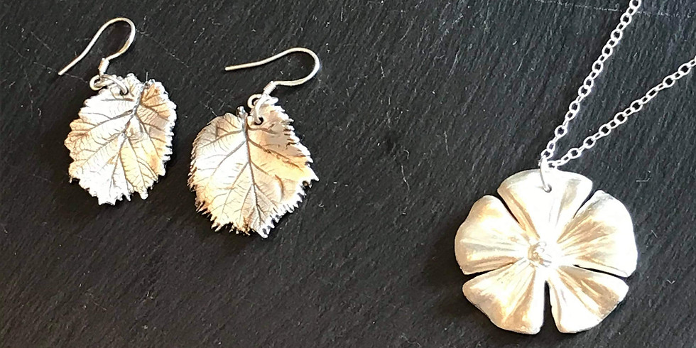 BEGINNERS SILVER CLAY WORKSHOP EXPERIENCE - £95.00