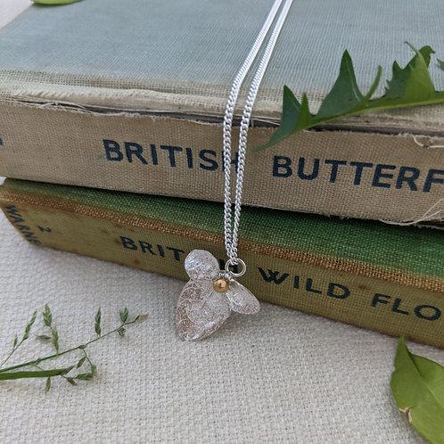 Leaf flower pendant