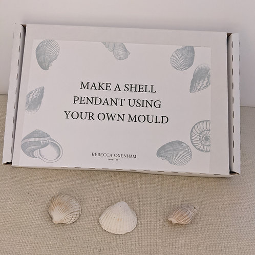 Follow on bespoke mould and shell pendant necklace project kit