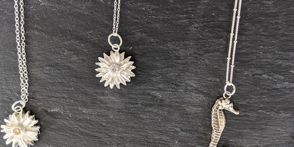 18th September - Full day beginners Jewellery making using silver clay