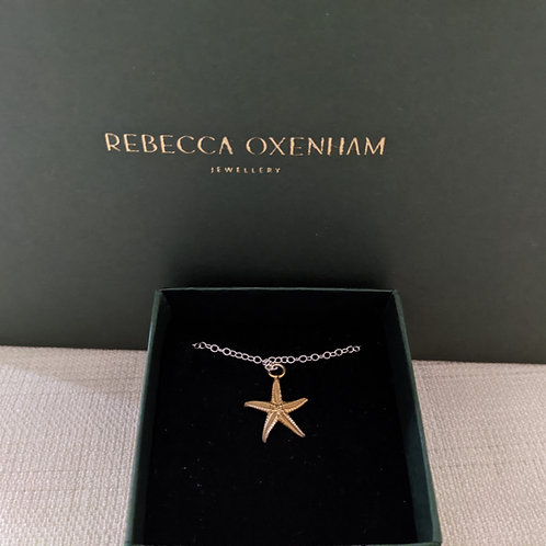 Starfish Necklace (Small) - Gold Plated